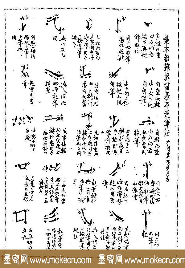 硬笔书法字帖图片《邓散木钢笔字范》