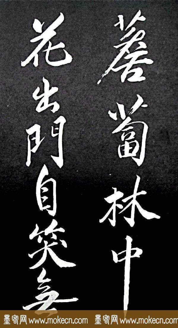 苏轼行书书法欣赏《清虚堂诗》